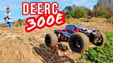 Un peu basher! DEERC 300E Brushless 1/18th Scale RC Truck Review