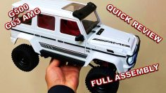 This G63 AMG is Probably the 'BEST LOW COST' Rc Crawler – MN86K Mercedes G500 RC Car Assembly