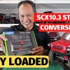 Axial SCX10 III Straight Axle Conversion Kit – unboxing AR45 kit