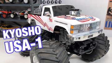 e172: Kyosho's Biggest & Baddest Vintage Electric Monster Truck, The USA-1 Arrives To The Channel