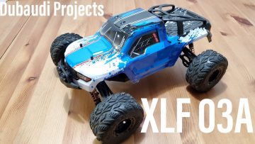 XLF 03A 1/12 Brushless RC Truck from Banggood