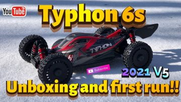 NEW CAR TO THE CHANNEL!! Arrma Typhon 6s.