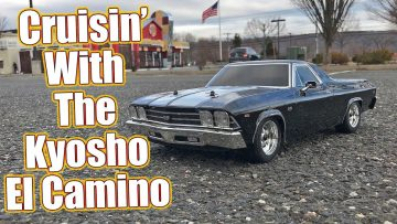 Your Chance To Cruise With A Classic! Kyosho Chevy El Camino SS Fazer Mk2 Review | RC Driver