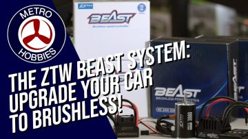 ZTW Beast Brushless Systems: Easy Ways to level up your RC cars!