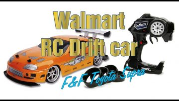 Jada Fast & Furious RC Drift Supra Review F&F (Walmart)