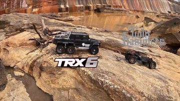 Vaterra Twin Hammers and Traxxas TRX-6 take on the Rocks . #vaterra #traxxas #rccrawling #rccrawler