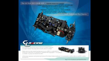 GLR-GT by GL Racing Chassis Review 4 of 9 Steering Servo and Saver (中文字幕)