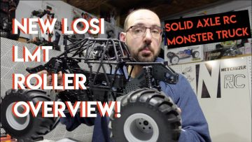 New LOSI LMT Roller Unboxing! Solid Axle RC Monster Truck Overview – Netcruzer RC
