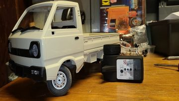 NEW TOY From WPL D12 Truck Review RTR