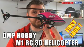 OMP HOBBY M1 MINI RC HELICOPTER:  DUAL BRUSHLESS DIRECT DRIVE 3D PERFORMANCE | FIRST LOOK