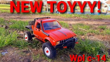 NEW RC CAR!!! UNBOXING, BUILD AND 1ST OUTING!! WPL C14!