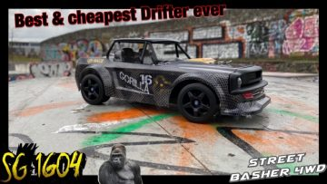 SG 1604 Upgrade and Review, the best & cheap RC Drifter ever Ken Block Hoonigan Style