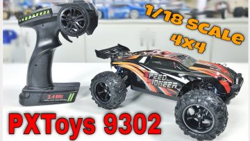 PXtoys 9302 1/18 2.4G 4WD High Speed Racing RC Car Off-Road Truggy Vehicle RTR From Banggood Review