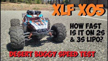 XLF X05 Max Speed Testing on 2S & 3S Lipos – How Fast Is It?