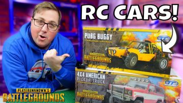 PUBG RC Cars? Are they any good? Gamers Vs RC Toys!