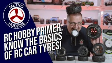 RC Basics: Know the basics of Radio Control Car Tyres