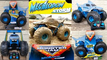 Megalodon Storm Review – AMAZING MONSTER JAM R/C!!!!