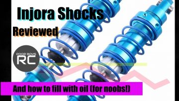 Injora Blue Shock Review (and how to fill shocks for noobs!)