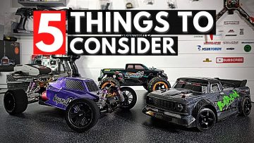 5 Things to Consider when buying your first RC Car as a Beginner!