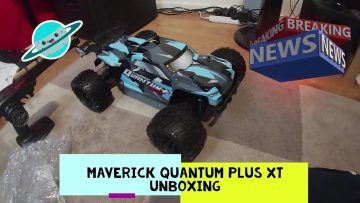 Maverick Quantun Plus + XT unboxing   # BIG MAVERICK @_@