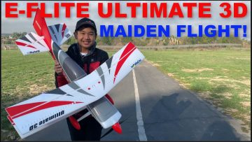 E-flite Ultimate 3D – Review and first flight!