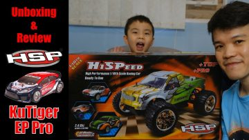 HSP KuTiger EP Pro Brushless Motor 1/10th Scale RC Car Unboxing & Review