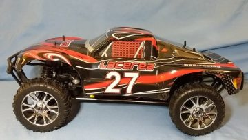 Hsp 94763 Lacerea Nitro Unboxing – 1/8 RC Short Course Truck with SH .21 Motor