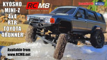 KYOSHO MINI-Z 4×4 RTR TOYOTA 4RUNNER: ESSENTIAL RC DRIVE TEST