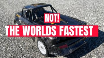 NOT The Worlds Fastest RC Car! #NOTEVER