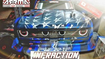 Arrma Infraction 1/7 Scale Onroad Rc Car