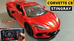 2020 Corvetta C8 Pastinaca 1:14 RC Car (Versione driver APP) di New Bright