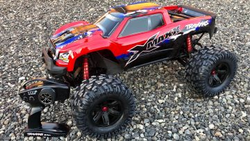 Traxxas XMAXX 8s Unboxing en Bashing Review!