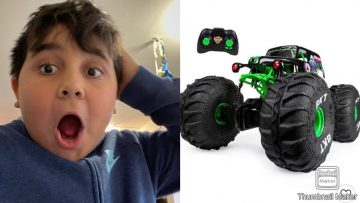 Grave digger Rc car review, episode 1 of rc cars.