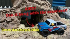 "Team Associated CR28 2wd ""Trail Truck"" Udpakning og korrektur"