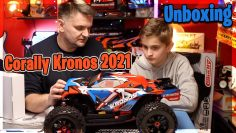Unboxing Team Corally's Kronos 2021 Монстр Трагги 1/8e 6S