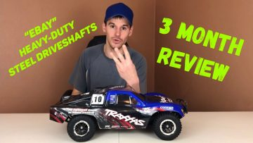 "HD STEEL DRIVESHAFTS – Traxxas Slash 4×4 VXL – ""3 MONTH REVIEW"" ARE they As Good AS MIP DRIVESHAFTS?"