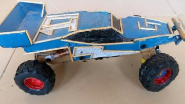 How to make an Off Road monster rc car