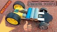 How to make a remote control RC car| Mini High speed RC car| rechargeable rc car diy Racing car.