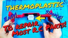 ✅Using THERMOPLASTIC (Polymorph) to repair broken parts on your RC Car, Plane, Drone or boat!