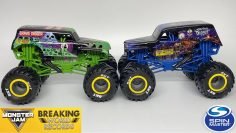SPIN MASTER MONSTER JAM BREAKING WORLD RECORDS | Serie 1 | 1:24 Scară