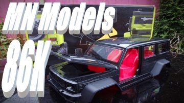 MN Models MN86K 1:12 Scale G500 G-Wagon. Unboxing and Kit Review.