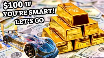 $100 YOURS IF YOU'RE SMART! – RC CARS SPEED RUN DUAL MOTOR RC CAR CHALLENGE MONEY GIVEAWAY