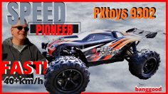 PXtoys PXtoys 9302 1/18 Échelle 4WD High Speed Racing RC Voiture tout-terrain Truggy Vehicle RTR