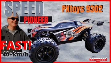 PXtoys 9302 1/18 Schaal 4WD High Speed Racing RC Car Off-Road Truggy Vehicle RTR