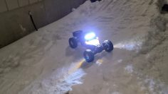 losi lasernut first run. plug in battery…..pull trigger……send it!! rc wife and son rc bashing!