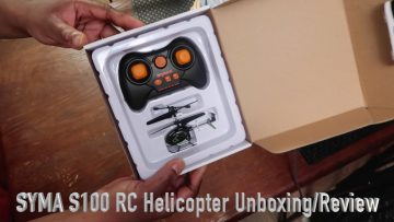 SYMA S100 RC Helikopter Unboxing:Review
