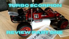 Kyosho Turbo Escorpión (2017) Revisar la primera parte