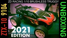 ZD Racing 9104 Tuono brushless ZTX-10 1/10 2.4G 4WD RC Car Truggy – Panoramica dell'unboxing