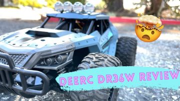 DeeRC DE36w RC Car Review
