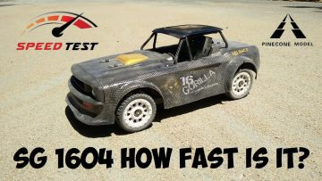 SG 1604 Max Speed Test –  Is it as fast as the 30kph they Claim?